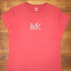 Michael Kors red t-shirt